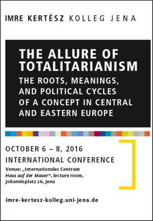 conference The Allure of Totalitarianism