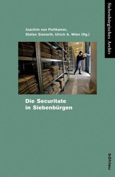 Bookcover Die Securitate in Siebenbürgen