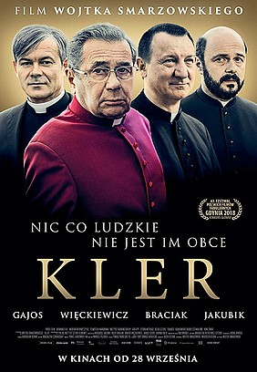 "official movie poster ""Kler"" (Clergy)"
